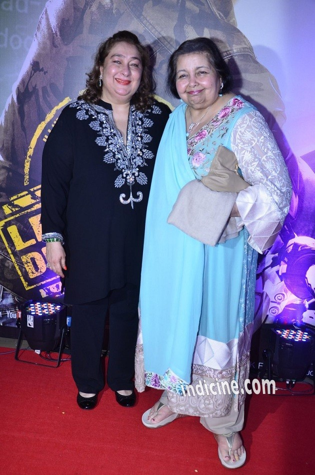 Reema Kapoor with Pamela Chopra