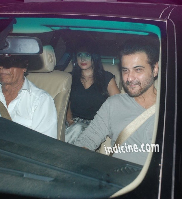 Sanjay Kapoor with wife Maheep