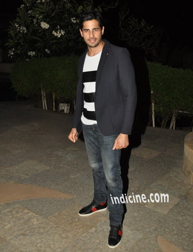 Sidharth Malhotra at Ek Villain success bash