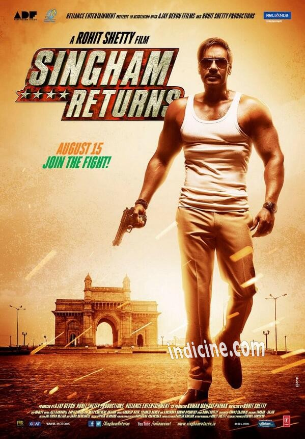 Singham Returns First Look