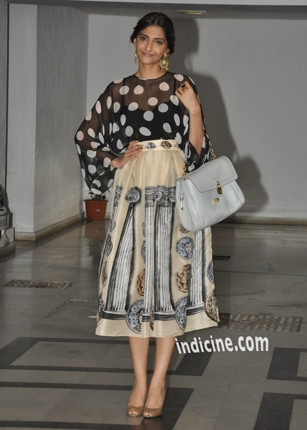 Sonam Kapoor at Karan Johar's party