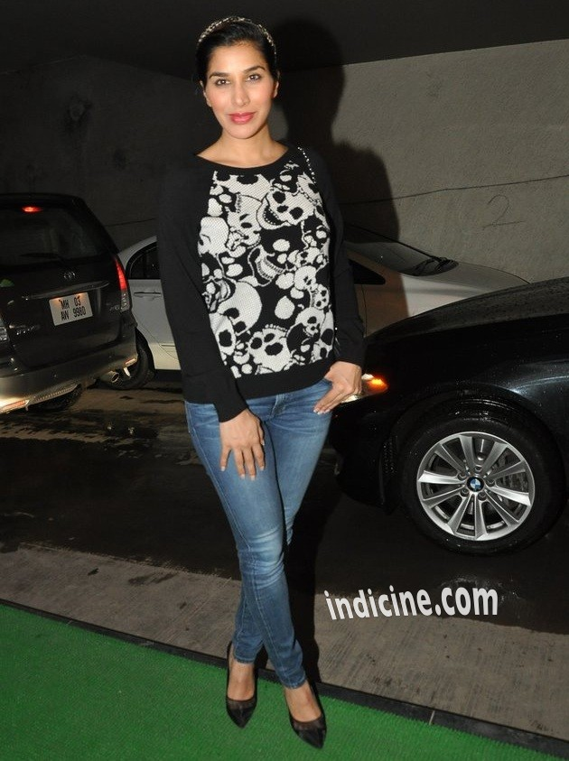 Sophie Chaudhary at special screening of Bobby Jasoos
