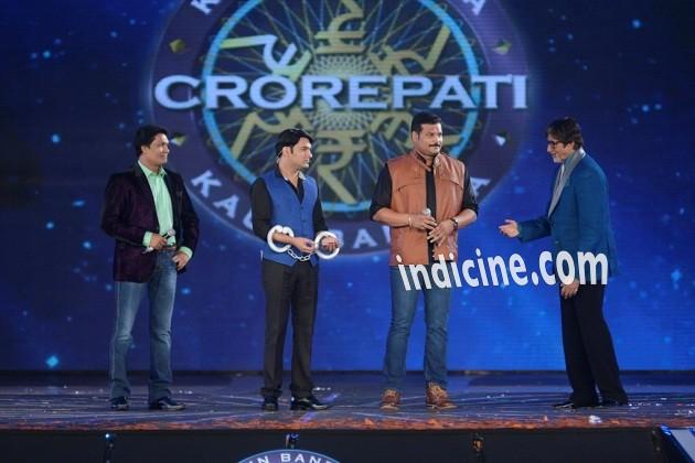Abhijeet, Kapil Sharma, Dayanand Shetty and Amitabh Bachchan