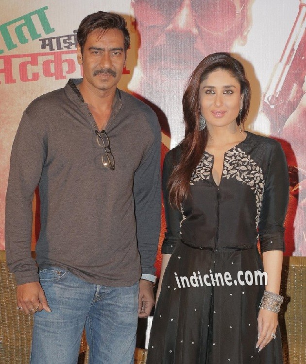 Ajay Devgan with Kareena Kapoor