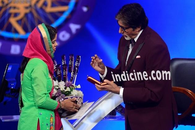 Amitabh Bachchan at KBC Season 8 premiere