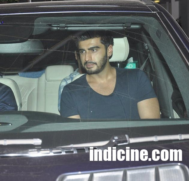 Arjun Kapoor snapped at Sunny Super Sound