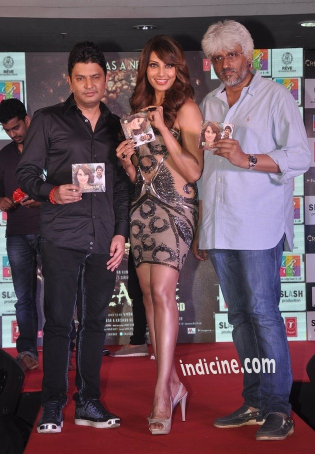 Bhushan Kumar, Bipasha Basu and Vikram Bhatt unveil Creature 3D music