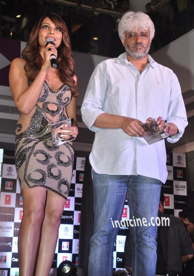 Bipasha Basu, Vikram Bhatt at Creature 3D music launch