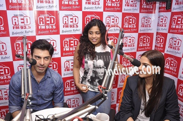 Fawad Khan, RJ Malishka and Sonam Kapoor