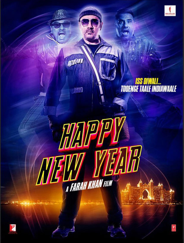 5 New Posters Of Happy New Year Which One Do You Like The Most Vote