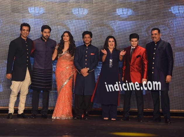 Happy New Year team walk the ramp for Manish Malhotra