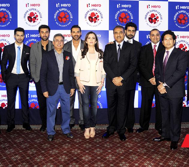 Indian Super League press meet