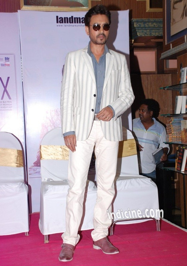 Irrfan Khan at The Lunchbox DVD launch