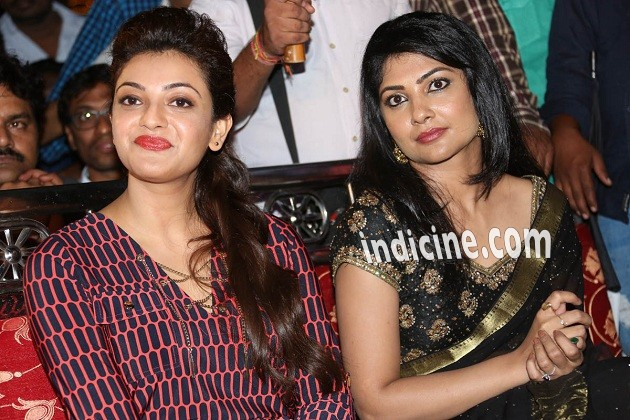 Kajal Agarwal, Kamalinee Mukherjee at GAV teaser launch