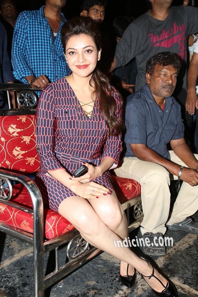 Kajal Agarwal at GAV teaser launch