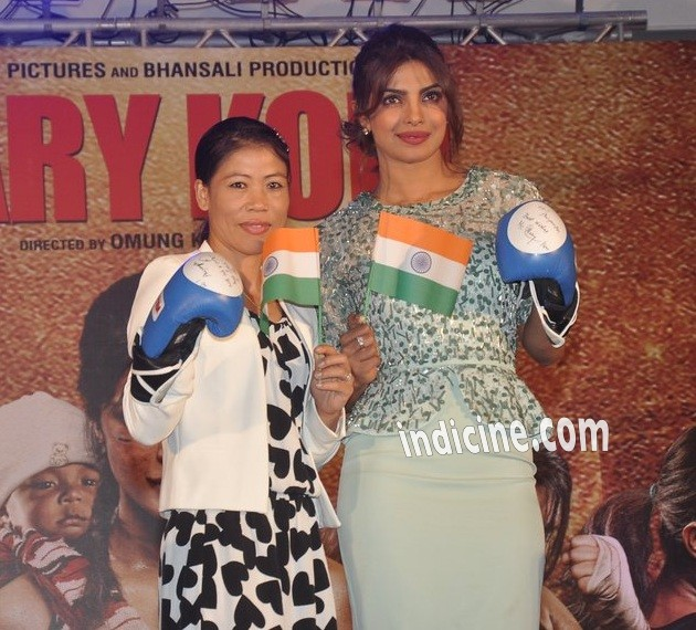 Mary Kom, Priyanka Chopra at Mary Kom audio release