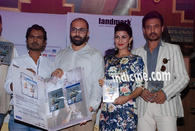 Nawazuddin Siddiqui, Ritesh Batra, Nimrat Kaur and Irrfan Khan