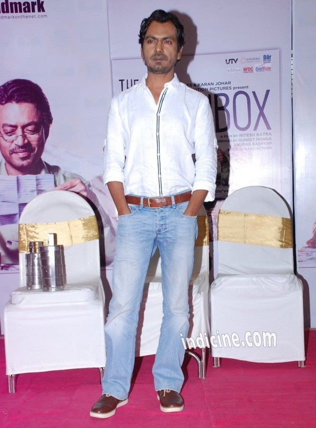 Nawazuddin Siddiqui at The Lunchbox DVD launch