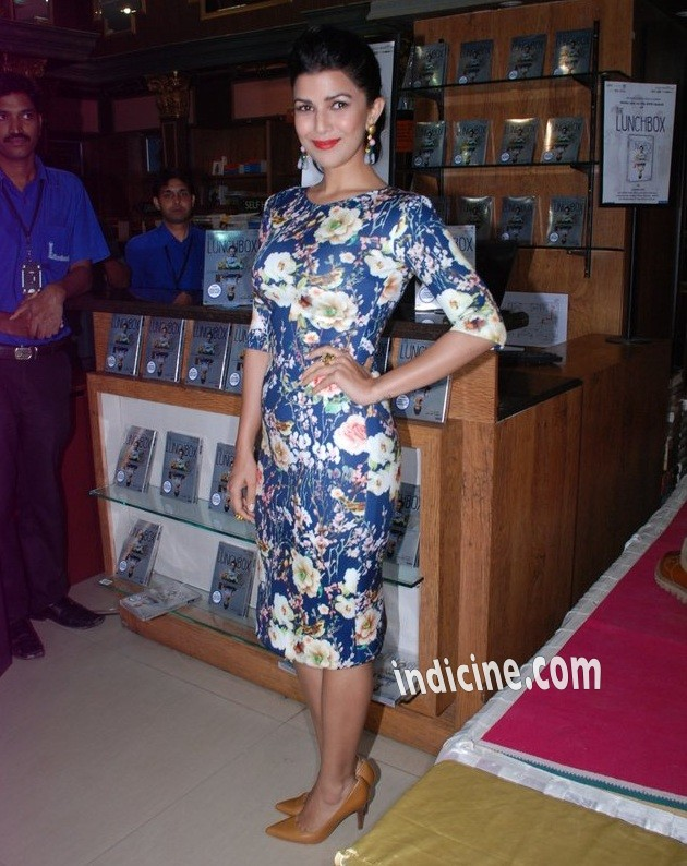 Nimrat Kaur at The Lunchbox DVD launch