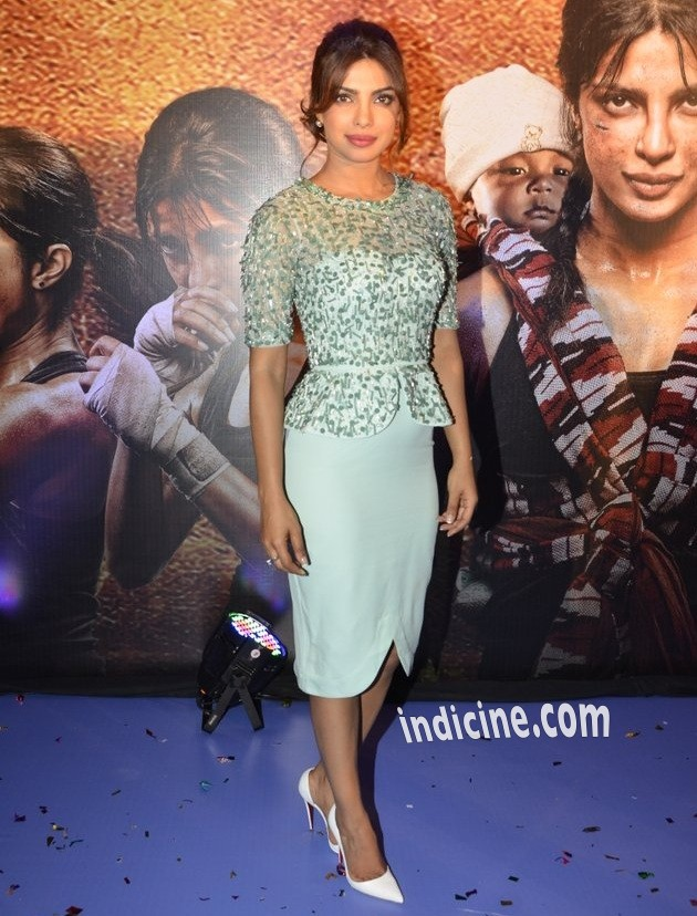 Priyanka Chopra at Mary Kom audio release