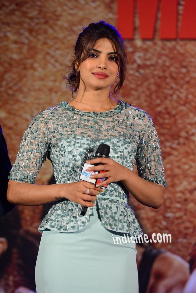 Priyanka Chopra at Mary Kom music launch