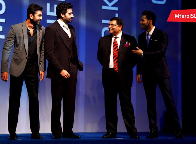 Ranbir Kapoor, Abhishek Bachchan and Varun Dhawan