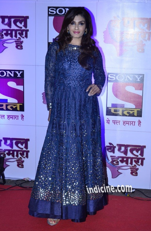 Raveena Tandon at Sony Pal channel red carpet