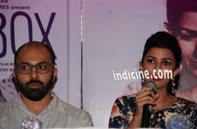 Ritesh Batra, Nimrat Kaur at The Lunchbox DVD launch