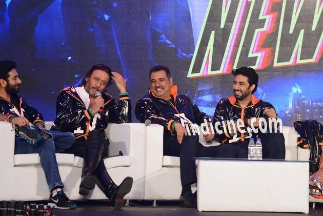 Shekhar Ravjiani, Jackie Shroff, Boman Irani and Abhishek Bachchan