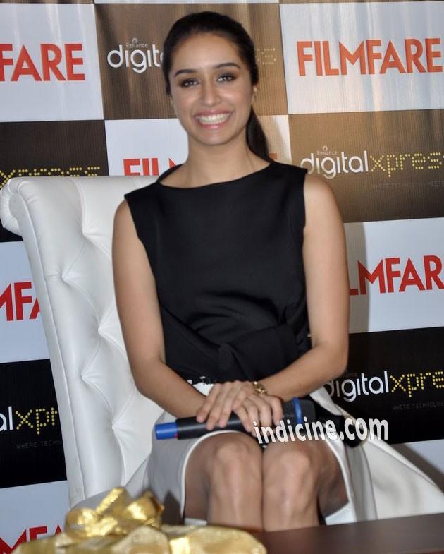 Shraddha Kapoor at Filmfar press meet