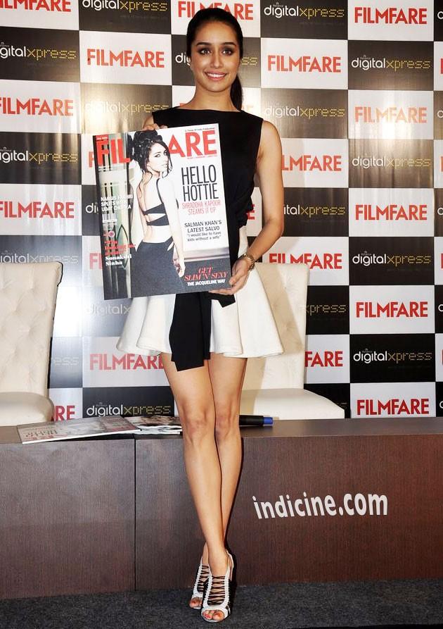 Shraddha Kapoor launches Filmfare's latest issue