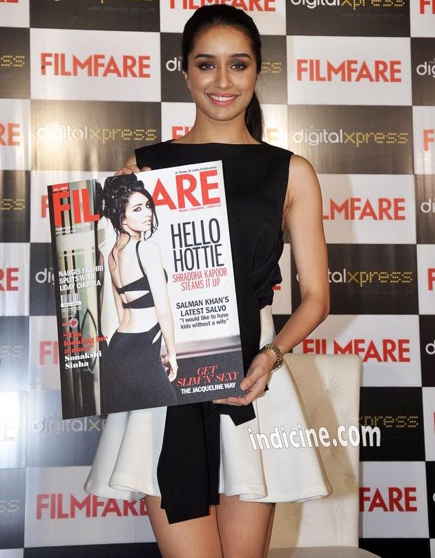 Shraddha Kapoor unveils Filmfare's September issue