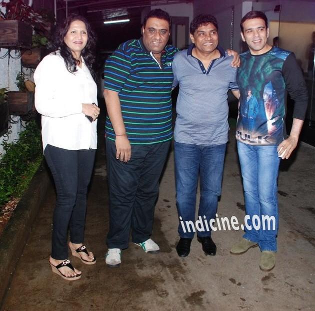 Sujatha Lever, Sajid, Johnny Lever and Farhad