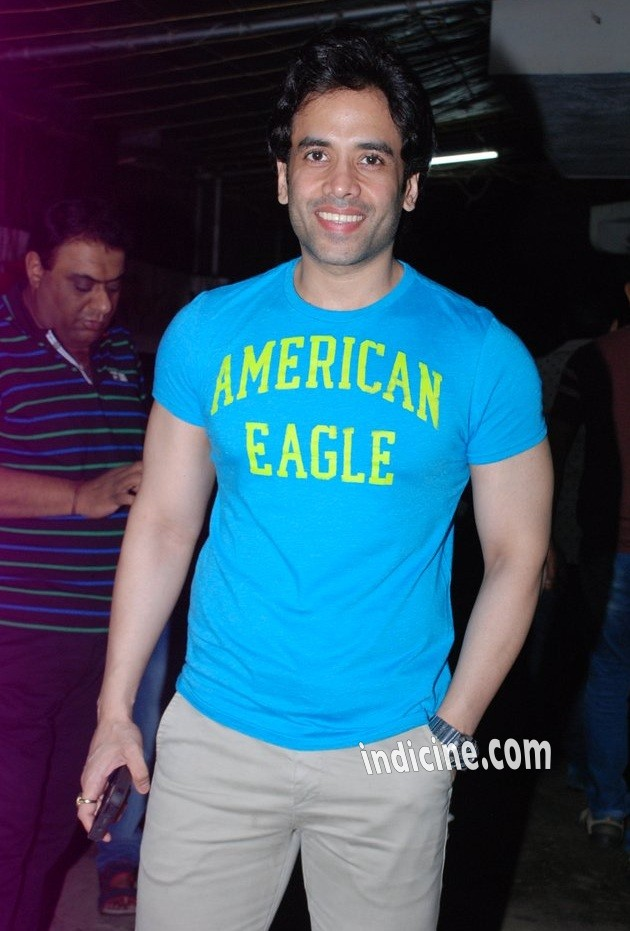 Tusshar Kapoor at special screening of Entertainment