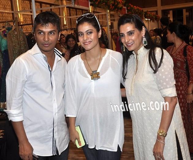 Vikram Phadnis, Kajol and Mana Shetty