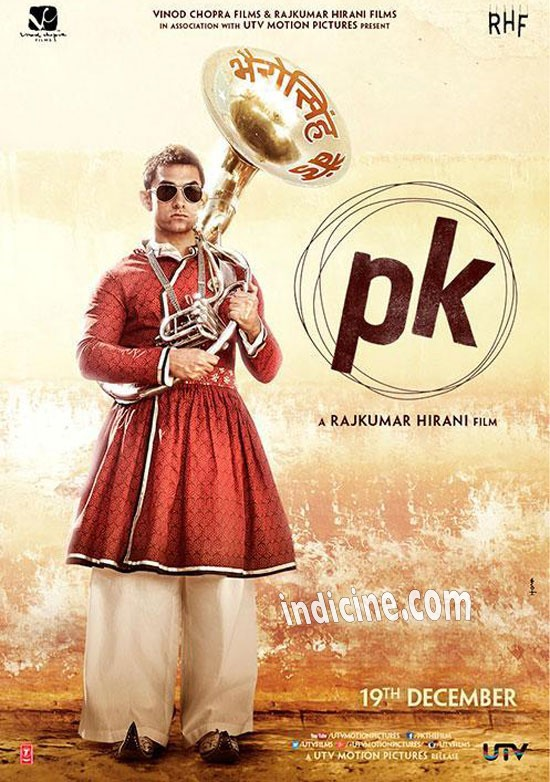 PK New Poster - Aamir Khan