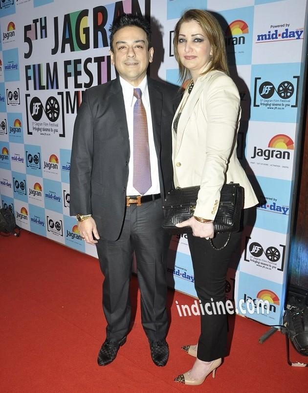 Adnan Sami with wife Roya Faryabi