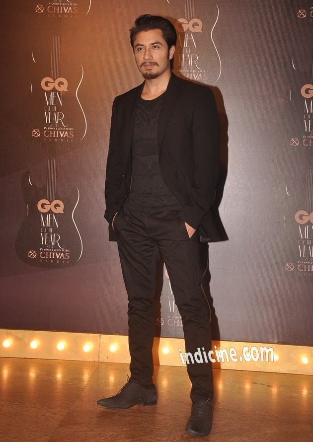 Ali Zafar at GQ awards