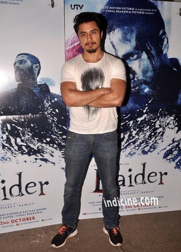 Ali Zafar at Haider screening at Sunny Super Sound