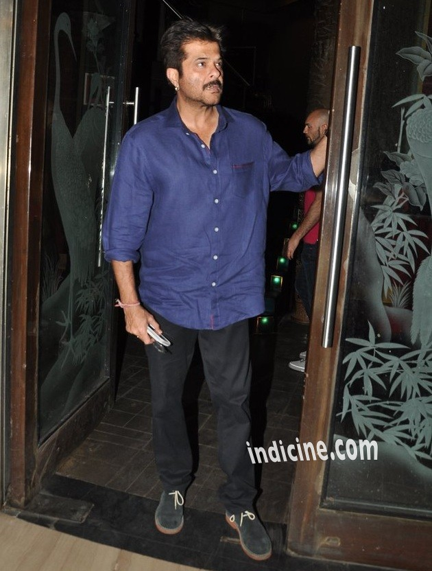 Anil Kapoor at Dil Dhadakne Do wrap up party
