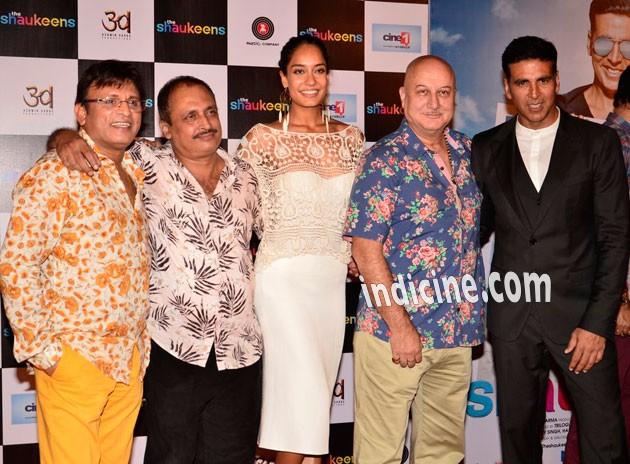 Annu Kapoor, Piyush Mishra, Lisa Haydon, Anupam Kher, Akshay Kumar