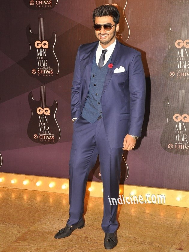 Arjun Kapoor at GQ Men of the year awards 2014