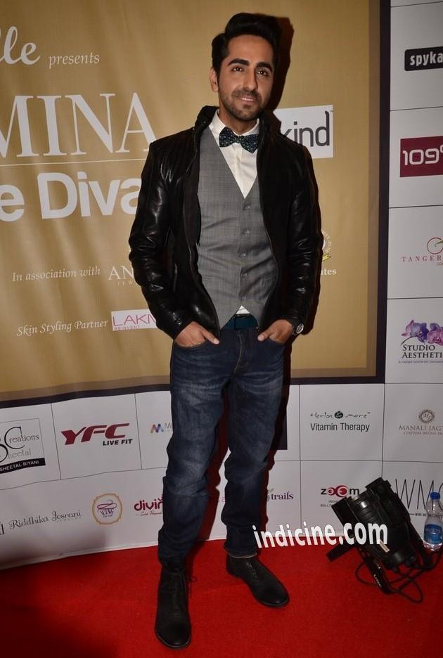Ayushmann Khurrana at Femina Style Diva awards