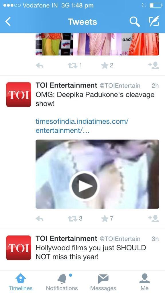 Deepika TOI