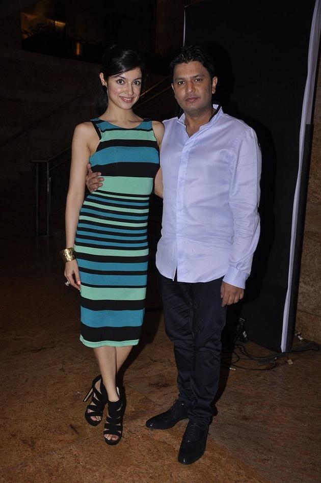 Divya Khosla with husband Bhushan Kumar
