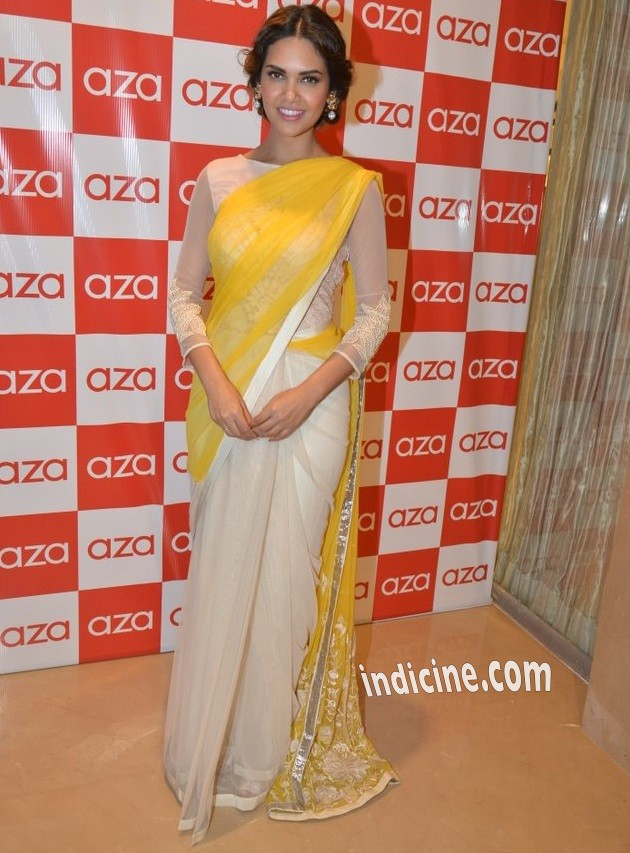 Esha Gupta at Aza store launch in Bandra