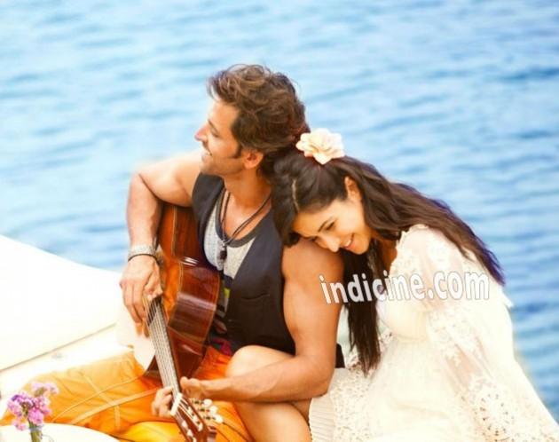 Hrithik Roshan, Katrina Kaif - Meherbaan song still