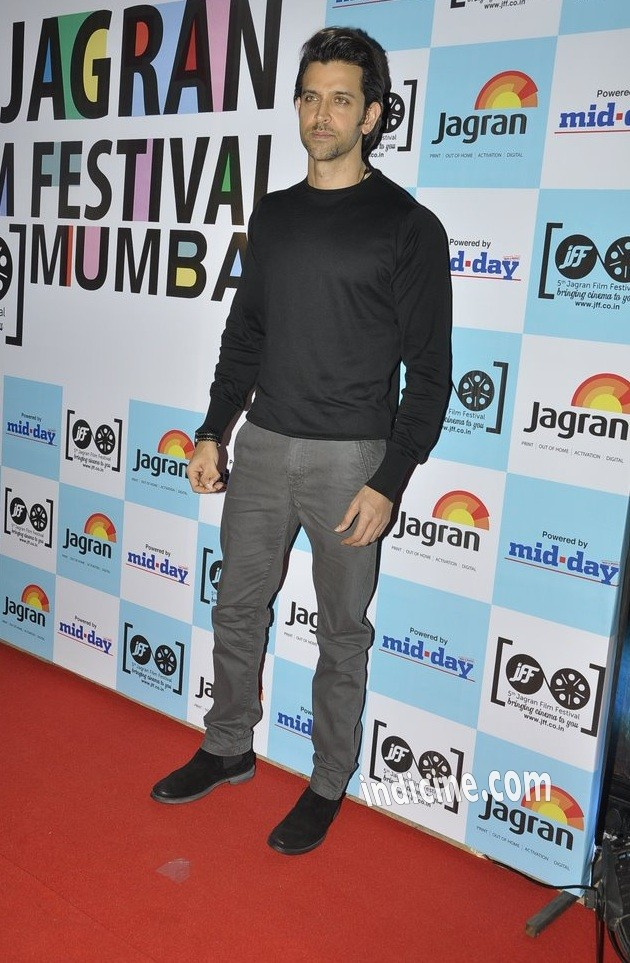 Hrithik Roshan at the launch of 5th Jagran Film Festival Mumbai