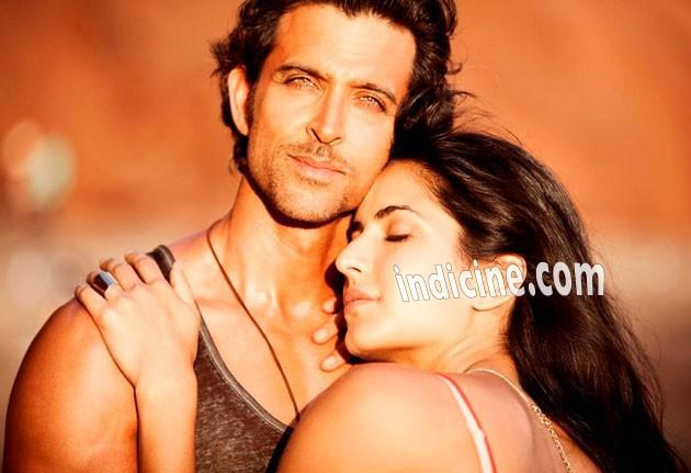 Hrithik Roshan with Katrina Kaif - Bang Bang