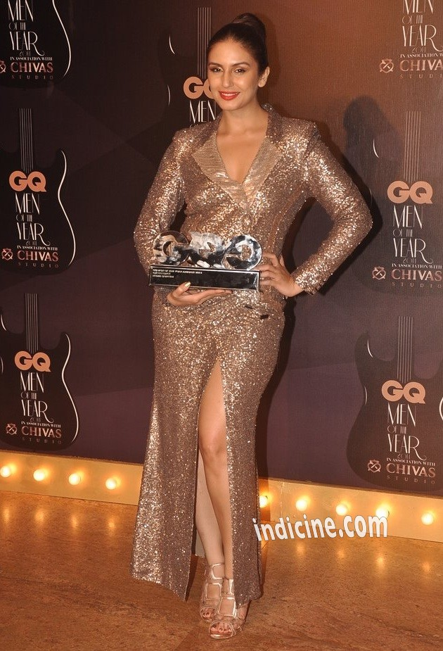 Huma Qureshi at GQ awards 2014